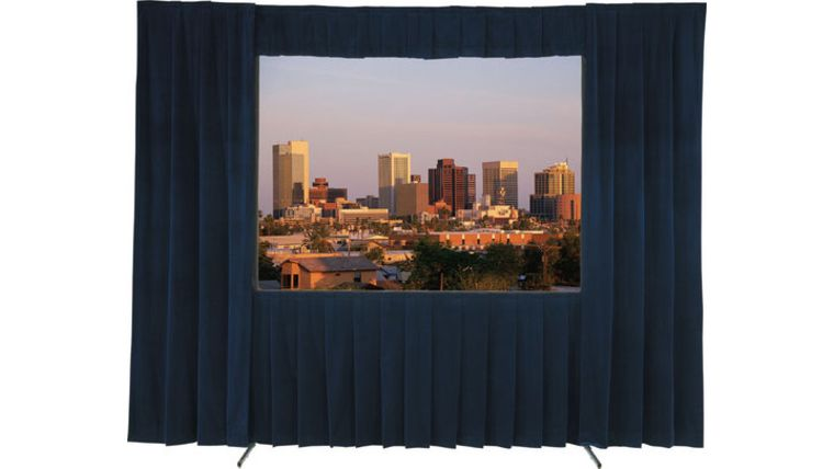 "Picture of a Audio Visual Support: Projection Screen, Fast Fold 7'6"" x 10' with Dress Kit"