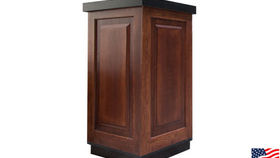 Image of a Bars: Mahogany Pedestal, Single