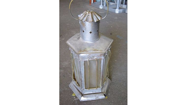 Picture of a Prop: Western, Tin Lantern