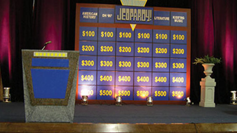 Picture of a Set: Jeopardy Gameshow with Podium