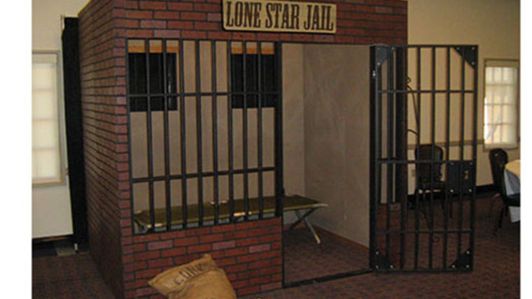 Picture of a Western Jail Set