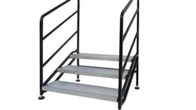 "Image of a Riser: Bil Jax Steel Stairs - 24""x 42"""