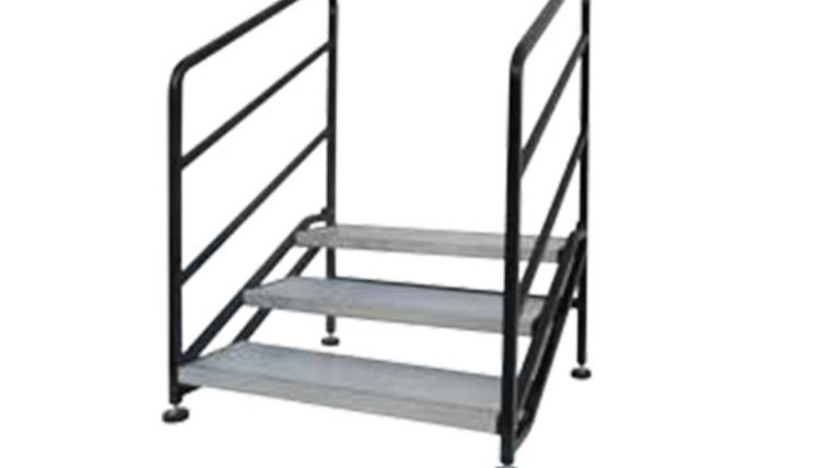 "Picture of a Riser: Bil Jax Steel Stairs - 24""x 42"""