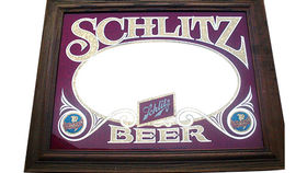 "Image of a ""Schlitz Beer"" Mirror"