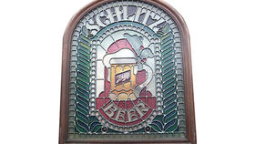 "Image of a ""Schlitz Beer"" Sign"