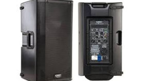 "Image of a Speakers:  10"" Powered Speaker (QSC K10) (each)"