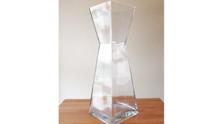 Picture of a Glass Bow Tie Vase