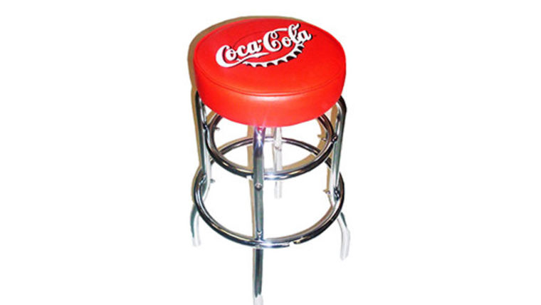 Image of a Barstools: Coca Cola