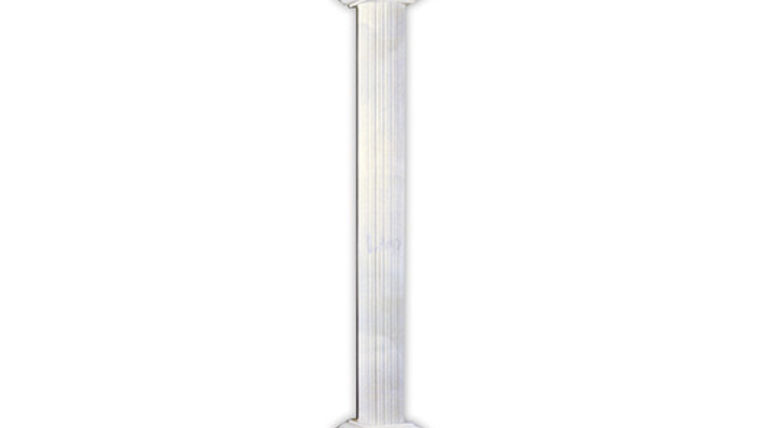 Picture of a Column: Trojan, 8' white