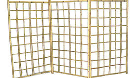 Image of a Bamboo Lattice Screen