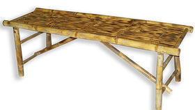 Image of a Bamboo Coffee Table