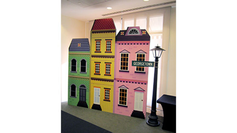 Picture of a Set: Neighborhoods: Row House Sets