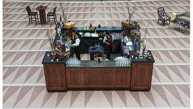 Image of a Bars: Mahogany, Square