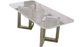Image of a Acrylic Coffee Table