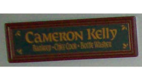 Image of a Irish Pub Sign