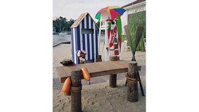 Image of a Beach Bath House Set