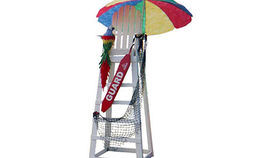 Image of a Prop: Beach, Life Guard Stand
