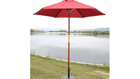 Image of a Umbrella:  Market, Red 7ft
