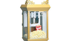 Image of a Novelty Food: Antique Deluxe Pop Corn Machine