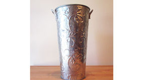 Image of a French Tin Vase