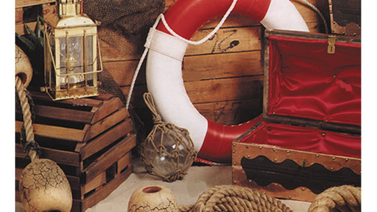 Picture of a Prop: Nautical, Floats on Rope
