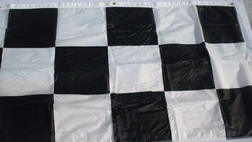Image of a NASCAR Checkered Banner