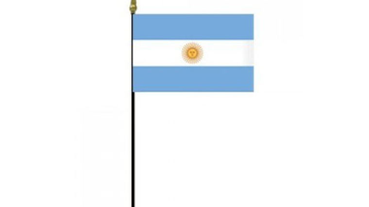 Flags: International, Argentina 2' Stick : goodshuffle.com