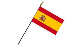 Image of a Flags: International, Spain 2' Stick