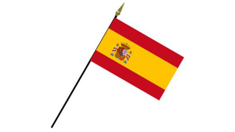 Picture of a Flags: International, Spain 2' Stick