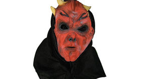 Image of a Prop: Halloween, Devil Mask