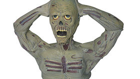 Image of a Prop: Halloween, Zombie with Head Ripping Action