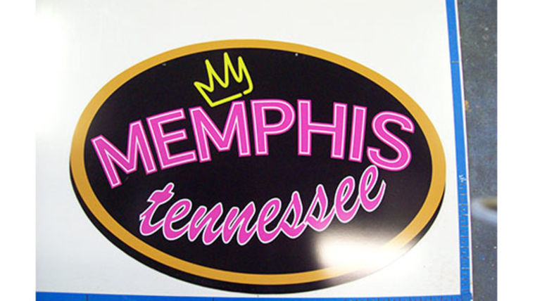Picture of a Memphis, Tennesee Sign