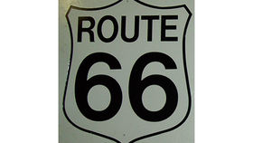 "Image of a Route 66 Sign, ""The Mother Road"""