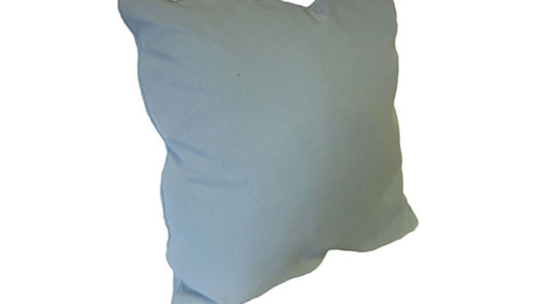 Picture of a Sky Blue Pillow