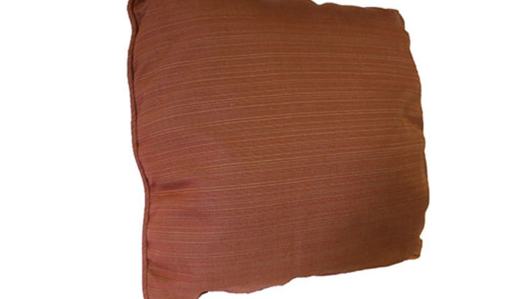 Picture of a Tuscan Orange Pillow