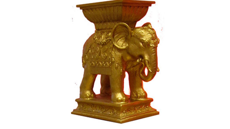 Gold Elephant : goodshuffle.com