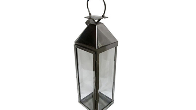 Picture of a Lanterns: Astin Polished Aluminum Large