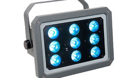 Image of a Lighting: LED: Elation OptiTri Par - IP Outdoor Rated