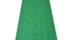 Image of a Carpet: Green Runner 3'x12'