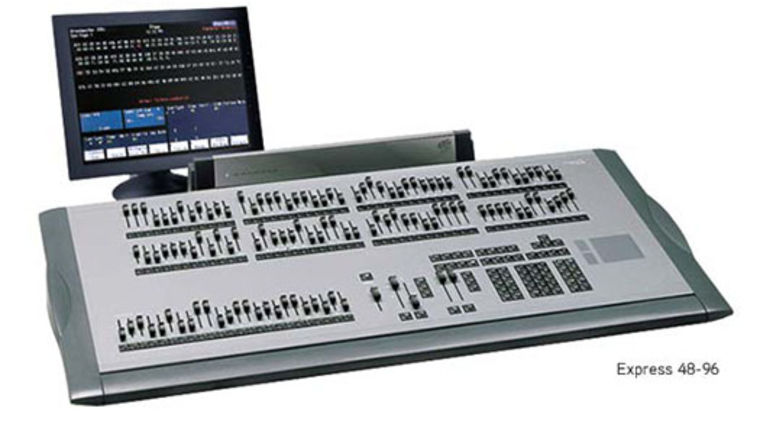 Picture of a Lighting Console: ETC Express 24/96