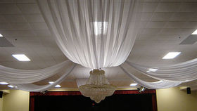 Image of a Sheer Fabric Ceiling Treatment Kit