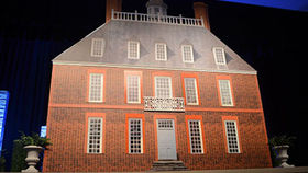 Image of a Colonial Governors' Mansion Set