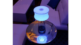 Image of a Centerpiece: Mini Lamp Light