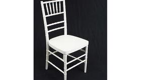 Image of a Chair: Chiavari, White