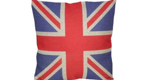 Image of a Union Jack Pillow