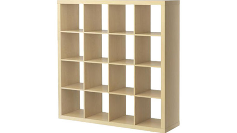 Picture of a Natural Bar Back Cube Shelves