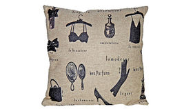 Image of a Vintage French Fashion Pillow
