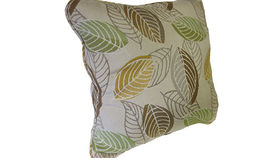 Image of a Green Leaf Pillow