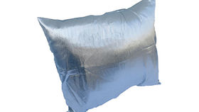 Image of a Silver Pillow