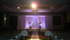 Image of a Sheer Drape Set with Valance, 14x30